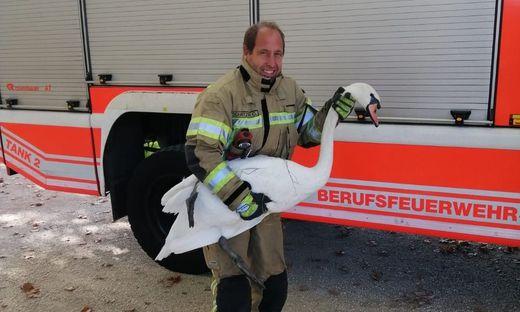 Feuerwehrmann Oliver Schnitzer