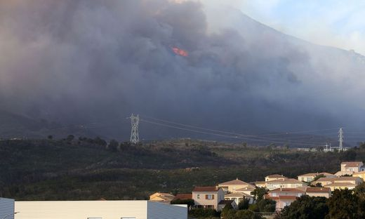 FRANCE-CORSICA-ENVIRONMENT-FIRE-WEATHER-STORMS