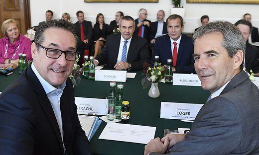 Gegen Ex-Vizekanzler Strache und Ex-Finanzminister Löger liegt nun eine weitere Anzeige vor.
