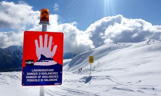 Lawine am Aletsch-Gletscher in der Schweiz - Drei Tote