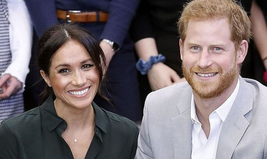 Erwarten ihr erstes Kind: Herzogin Meghan und Prinz Harry