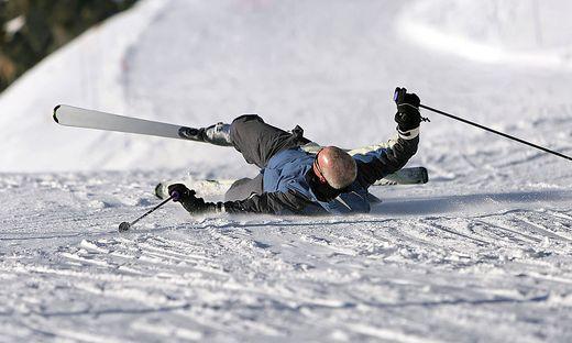 In Tirol ereignete sich ein schwerer Skiunfall (Symbolbild)