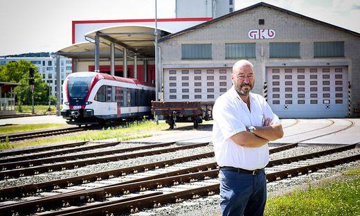 Betriebsrat Helmut Koch fürchtet die ÖBB-Übernahme