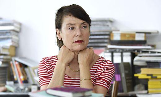 Die Schriftstellerin Lydia Mischkulnig