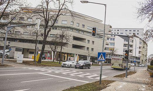 Neuer Fußgängerübergang Völkermarkterring zwischen Salmstraße und Sariastraße