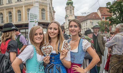 Drei-Mäderlhaus in Graz.