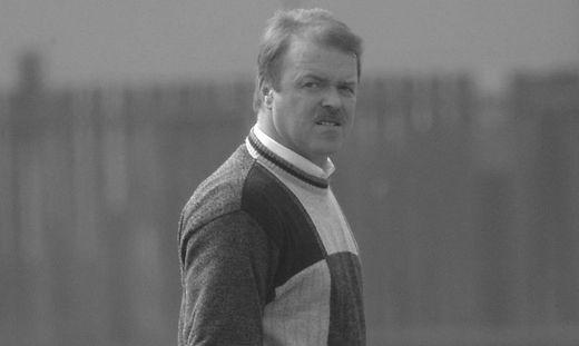 Erwin Hohenwarter, im Bild nach einem Spiel als Trainer von Allerheiligen