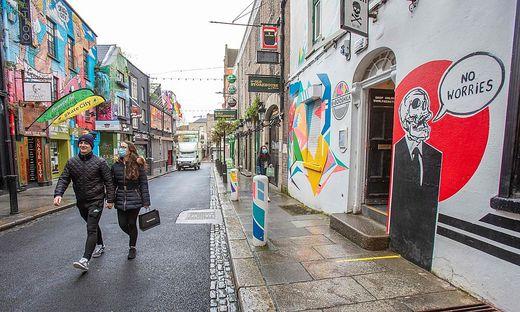 Mitte Dezember kam Irland im wöchentlichen Schnitt noch auf 52 neue Infektions-Fälle pro Million Einwohner und pro Tag
