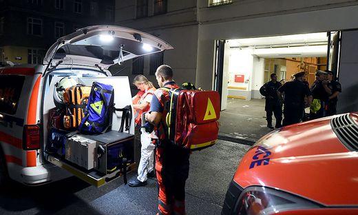 ´Die Verletzten wurden in verschiedene Krankenhäuser gebracht
