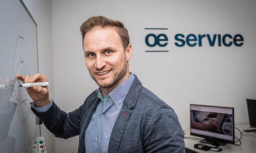 Janos Juvan CEO and Founder bei OE Service GmbH Klagenfurt