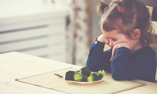 Brokkoli, Kinder, Essen