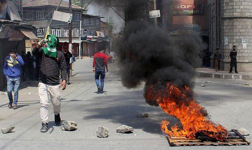 Mindestens zwölf Tote nach Protesten in Kaschmir