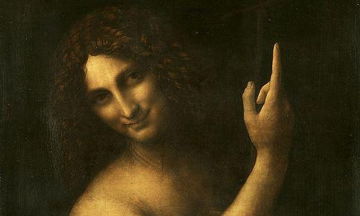 Das vermutlich letzte Gemälde von Leonardo da Vinci zeigt Johannes den Täufer als himmlischen Wegweiser und Vorläufer Christi