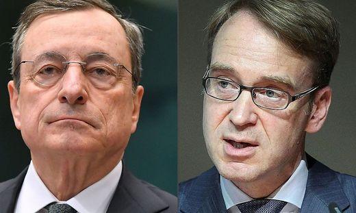 Mario Draghi, Jens Weidmann