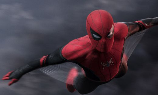 "Tom Holland in ""Spiderman: Far from Home"""
