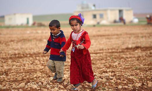 Flüchtlingskinder aus Syrien