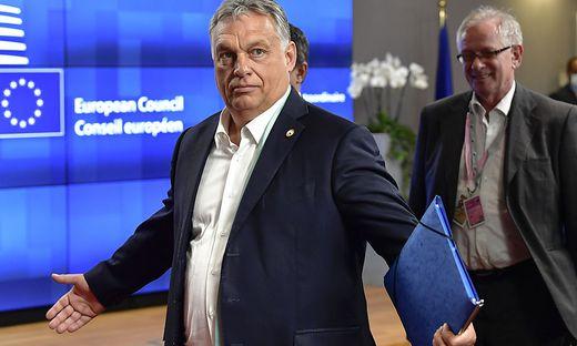 Viktor Orban gerät mit seiner Medienpolitik immer wieder in die Kritik