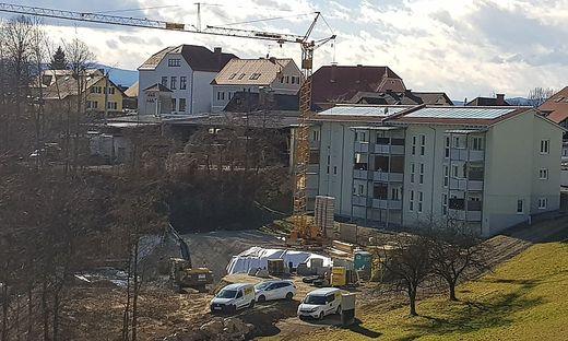 Die Baustelle sorgt derzeit für Kritik