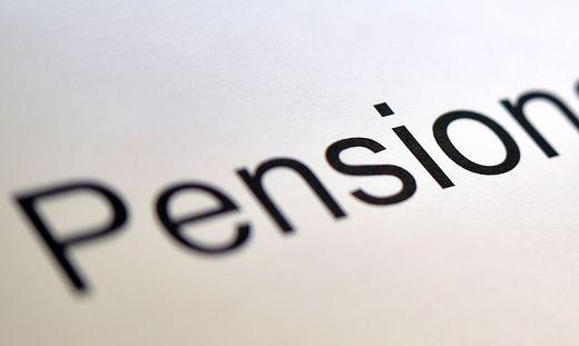 THEMENBILD: PENSIONSREFORM / PENSION / PENSIONSKONTO