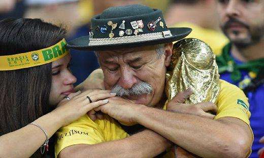 Brasilien versank im Tal der Tränen