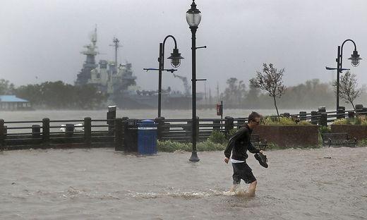 Schwere Überschwemmungen und Schäden an der Südostküste der USA