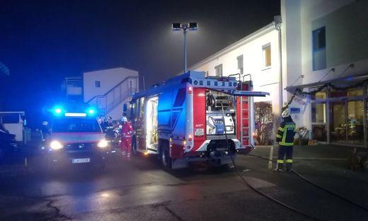Die Freiwillige Feuerwehr Wildon konnte den Brand rasch unter Kontrolle bringen
