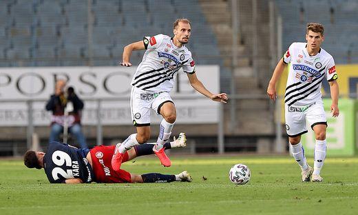 Erzielte das 1:0: Jon Gorenc-Stankovic (links)