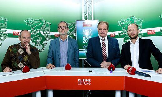 Werner Murgg, Gerald Deutschmann, Erwin Dirnberger, Bernd Hecke