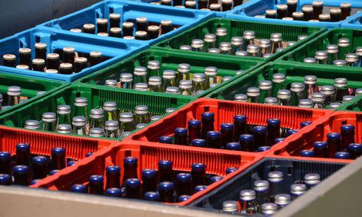 Mehrwegquoten: 60 Prozent bei Bier, 20 Prozent bei Mineralwasser, 10 Prozent bei Milch
