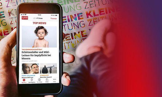 Mit der Smartphone-App immer informiert