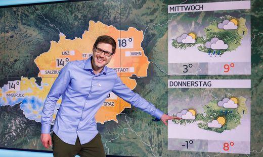 Manuel Kelemen ist der etwas andere Wetter-Mann