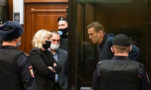 Alexej Nawalny muss mehrere Jahre hinter Gitter