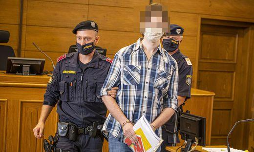 Der Haupttäter (Bild) und Komplize bekannten sich des versuchten Mordes schuldig. Dienstag wird das Strafmaß verkündet