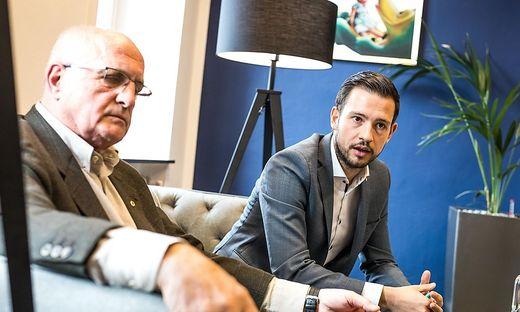 Franz Pacher Sebastian Schuschnig zu Wirtschaftsombudsstelle
