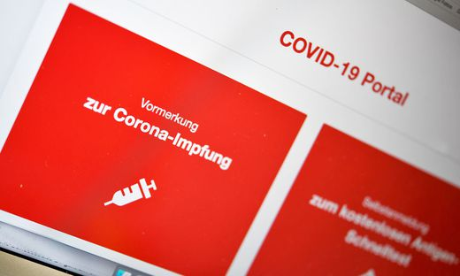 ++ THEMENBILD ++ CORONA: ONLINE-VORMERKUNG ZUR CORONA-IMPFUNG