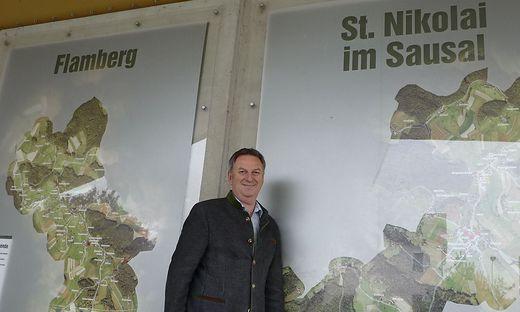 Bgm. Gerhard Hartinger freut sich auf den Projektstart