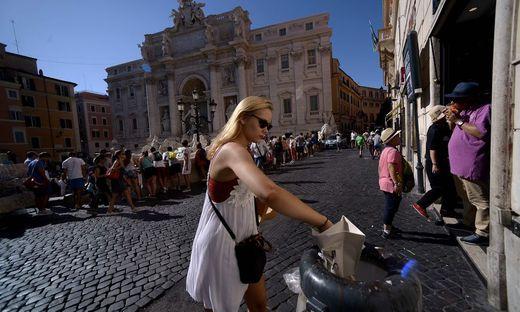 In Rom spitzt sich die Müllkrise zu