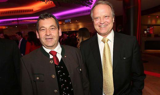 Helmut Nikel (links) und Karlheinz Klement wollen bei der Nationalratswahl antreten