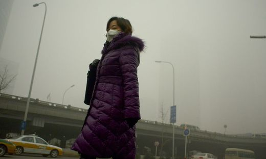 CHINA-ENVIRONMENT-POLLUTION-COP21