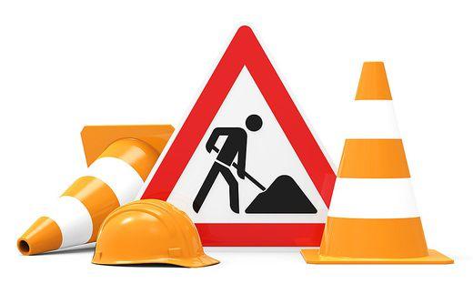 Baustellen behindern den Verkehr in Villach