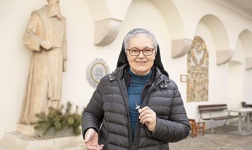 Schwester Maria Luise Wagner war zuvor zehn Jahre lang in Kanada. Dort leitete sie ein Noviziat