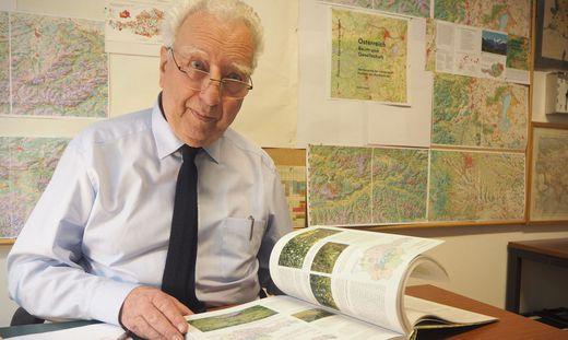 Martin Seger: emeritierter Uni-Professor der Alpen-Adria-Universität Klagenfurt