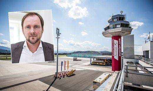 Franz Peter Orasch ist Mehrheitseigentümer des Klagenfurter Flughafens