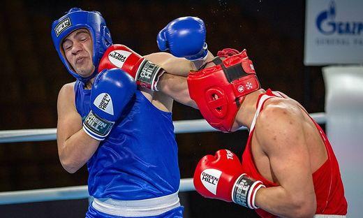 Kielce, 16.04.2021 BOKS MLODZIEZOWE MISTRZOSTWA SWIATA BOXING YOUTH WORLD BOXING CHAMPIONSHIPS NZ RASHED AL SWAISAT FOT