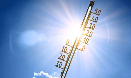 Am Sonntag gibt es wieder über 30 Grad