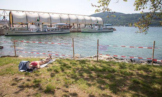 Freier Strandzugang Klagenfurt Woerthersee Werft