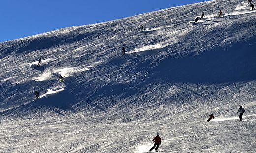 Auf den Skigebieten herrschte am Wochenende reger Betrieb