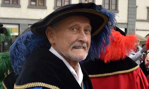 Hubert Struger freut sich über die Würdigung der Stadtrichter