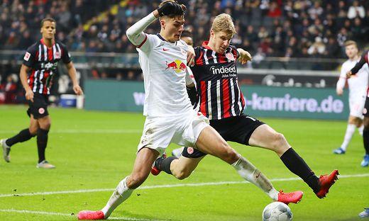 SOCCER - 1.DFL, Frankfurt vs RB Leipzig