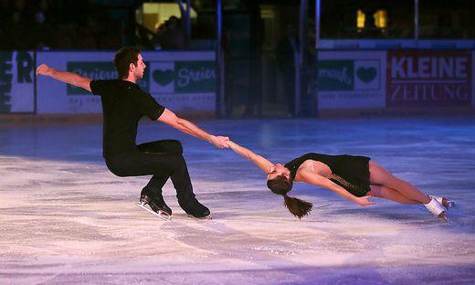 Internationale Stars waren bereits bei der IceChallenge in Graz dabei